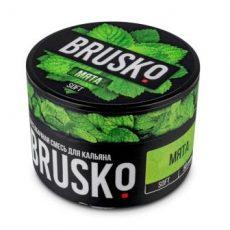 Бестабачная смесь для кальяна BRUSKO Мята Medium 50 г